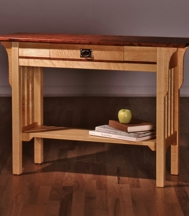 sandhill-designs-foyer-table-with-slats-and-center-drawer
