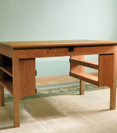 sandhill-designs-desk-with-side-shelves