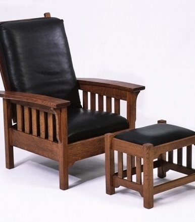 sandhill-designs-white-oak-morris-chair-and-ottoman