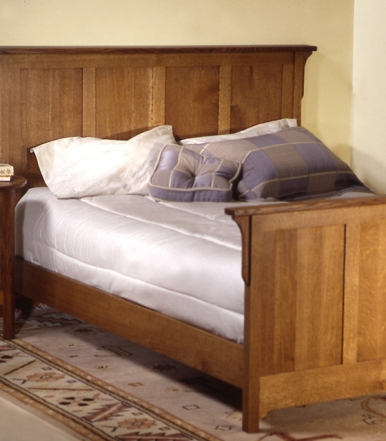 sandhill-designs-arts-and-crafts-panel-bed